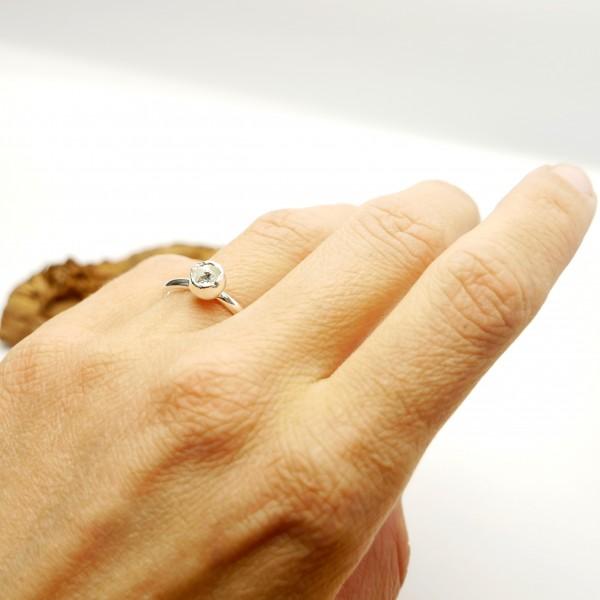 Sterling silver Star Dust pendant earrings