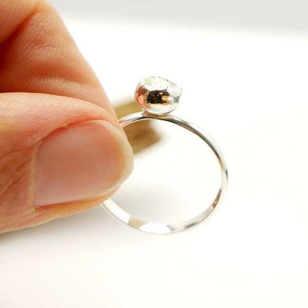 Little Star Dust adjustable sterling silver ring
