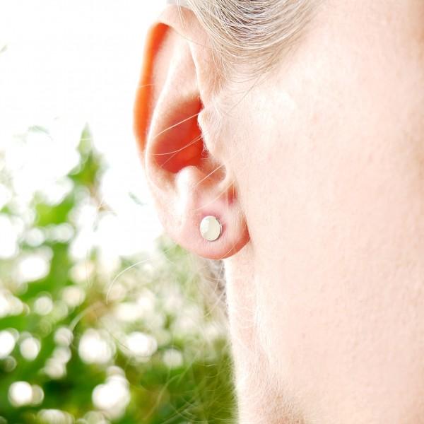 Boucles d'oreilles pendantes carpe Koï en argent massif 925/1000 Koi