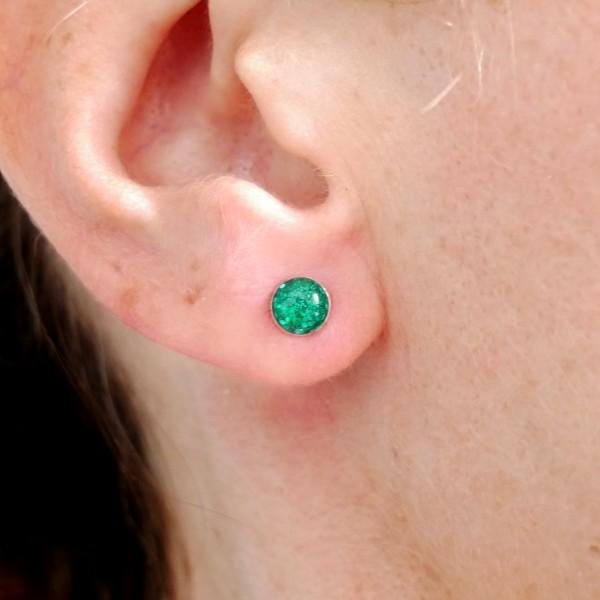 Longues boucles d'oreilles Kilt en argent massif