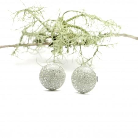 Bracelet gourmette Fleurs de Cerisier en argent massif et résine
