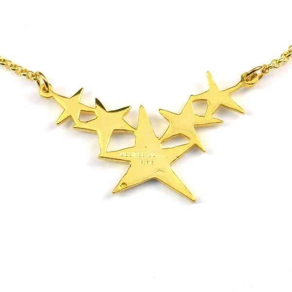 Petit bracelet étoile Nova en bronze doré à l'or fin