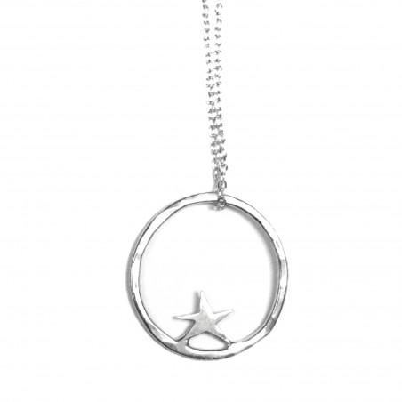Sterling silver Nova star necklace  Nova 45,00€
