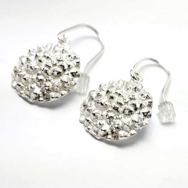 Beautiful Litchi sterling silver earrings Litchi 85,00 €
