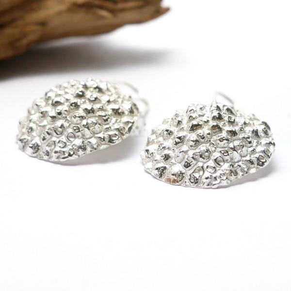 Wonderful Litchi sterling silver long earrings  Litchi 97,00€