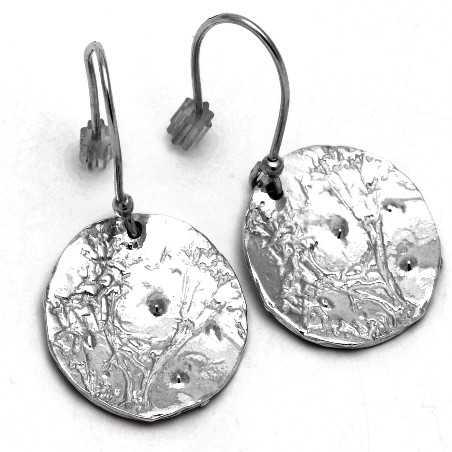 Sterling Silber Morgentau Ohrringe  Rosee du Matin 87,00€