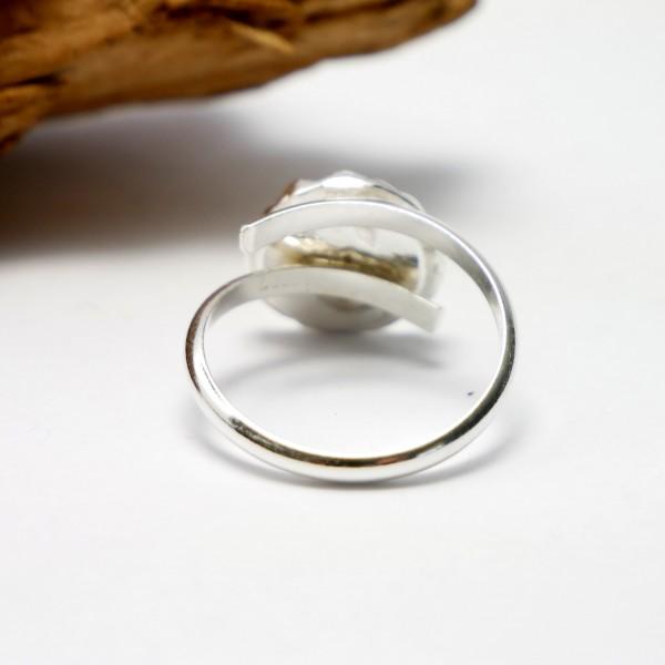 Schöner verstellbarer Litchi Ring Sterling Silber Litchi 65,00€
