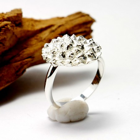 Verstellbarer Litchi Ring aus Sterling Silber Litchi 75,00€