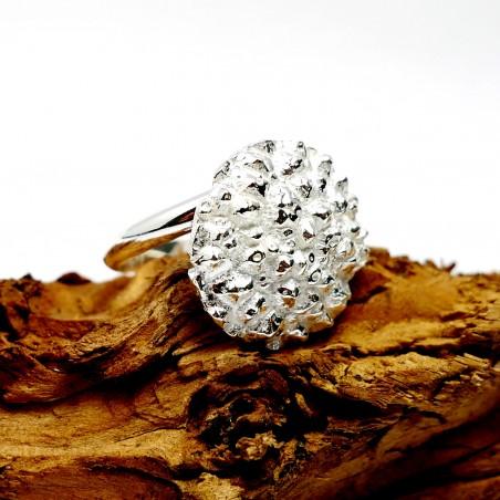 Nice Litchi sterling silver adjustable ring Litchi 75,00€