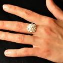 Valentine reversible necklace. Sterling silver. Valentine