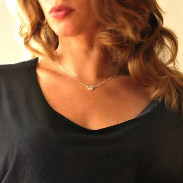 Star Dust Sterling silver small necklace Desiree Schmidt Paris Star Dust 47,00€