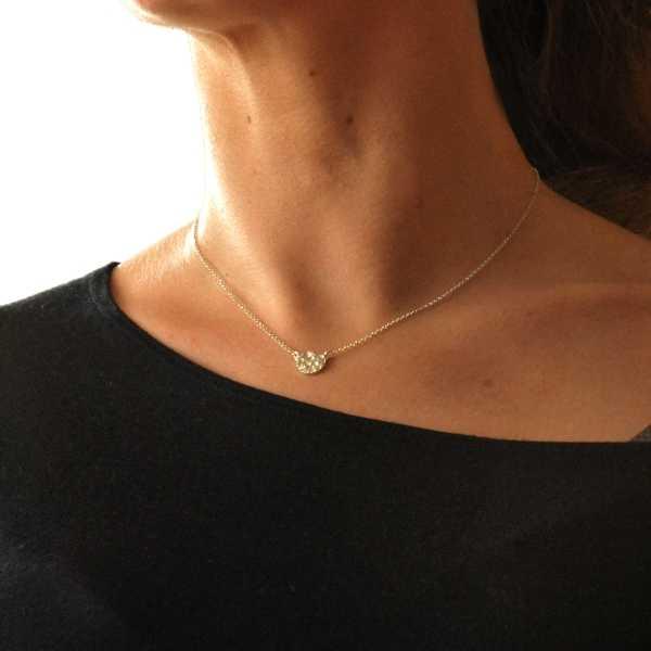 Kleine Sternenstaub Halskette aus Sterling Silber Desiree Schmidt Paris Sternstaub 47,00€
