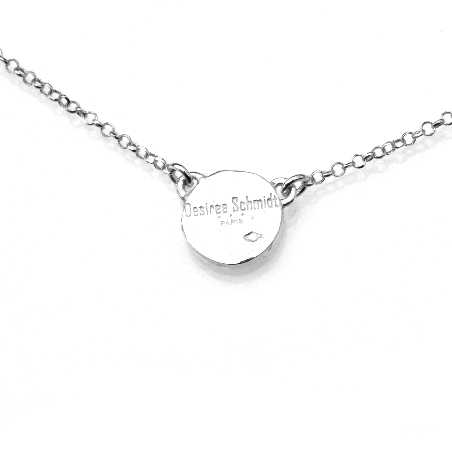 Sterling silver Morning Dew adjustable necklace