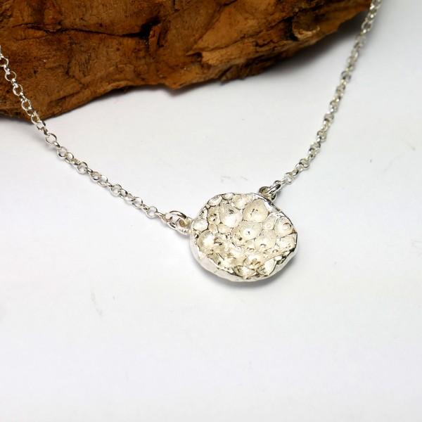 Kleine vertellbare Sternstaub Kette aus Sterling Silber  Sternstaub 57,00€
