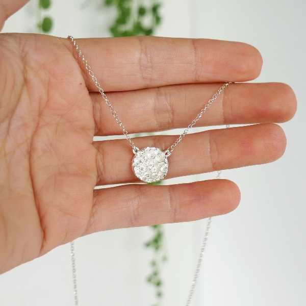 Kleine vertellbare Sternstaub Hakskette aus Sterling Silber Desiree Schmidt Paris Sternstaub 57,00€