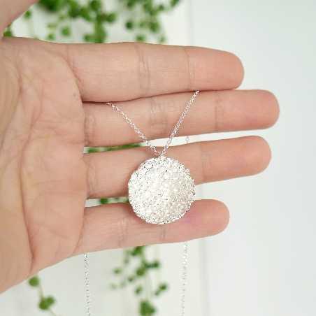 Grand collier en argent massif Poussière d'étoiles 2 Poussière d'étoiles 77,00€