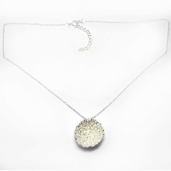 Grand collier en argent massif 925/1000 Poussière d'étoiles 2 Desiree Schmidt Paris Poussière d'étoiles 77,00€
