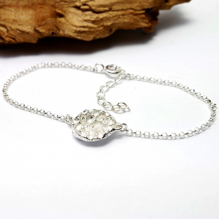 Petit bracelet ajustable en argent 925 Poussière d'étoiles  Poussière d'étoiles 55,00€