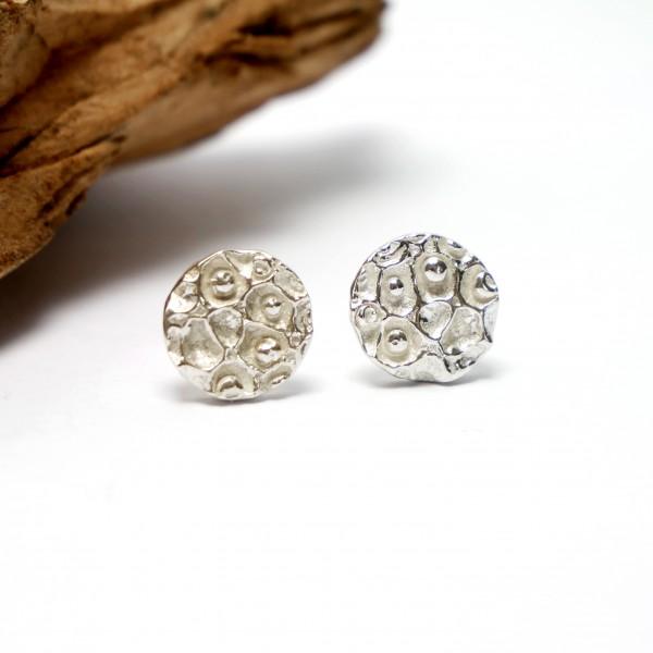 Petites boucles d'oreille Poussière d'étoiles en argent 925/1000  Poussière d'étoiles 57,00€