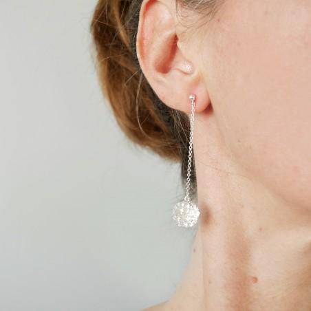 Sterling silver Star Dust pendant earrings Star Dust 77,00€
