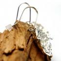 Longues boucles d'oreilles Kilt en argent massif Kilt