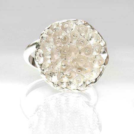 Hübsches Sternenstaub Sterling Silber verstellbarer Ring Sternstaub 75,00€