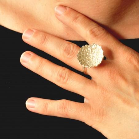 Magnifique bague Poussière d'Etoiles ajustable en argent massif 925/1000  Poussière d'étoiles 87,00€