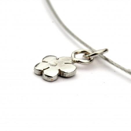 minimalist sakura pendant in 925 silver made in France Desiree Schmidt Paris Prunus 27,00€