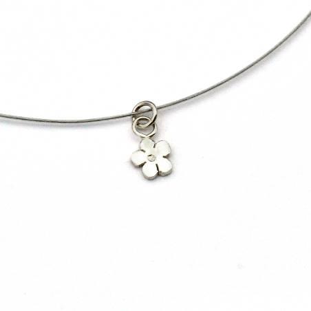 925/1000 silver sakura pendant necklace made in France Desiree Schmidt Paris Prunus 27,00€