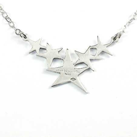 Sterling Silber Stern Halskette Sati 77,00€