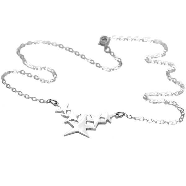 Sati star necklace. Sterling silver.  Sati 77,00€