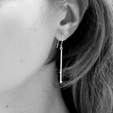 Boucles d'oreilles Goutelettes en argent massif  Less than 40 Euros 29,00€
