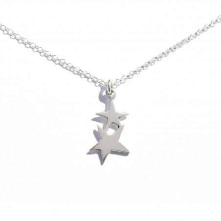 Small star pendant on sterling silver chain  Sati 37,00€