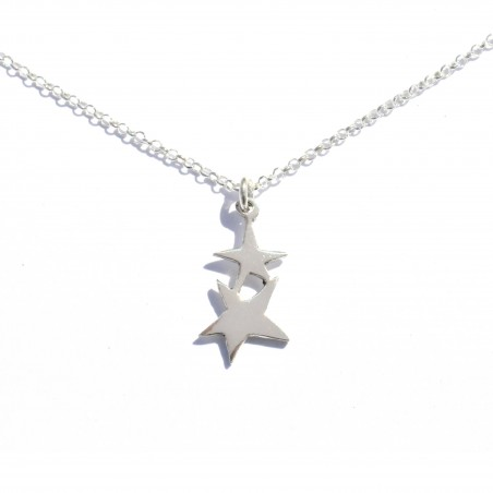 Small star pendant on sterling silver chain Sati 37,00 €