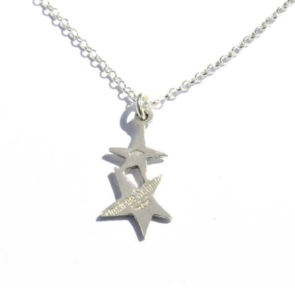 Stern Anhänger mit Kette aus Sterling Silber Sati 37,00€