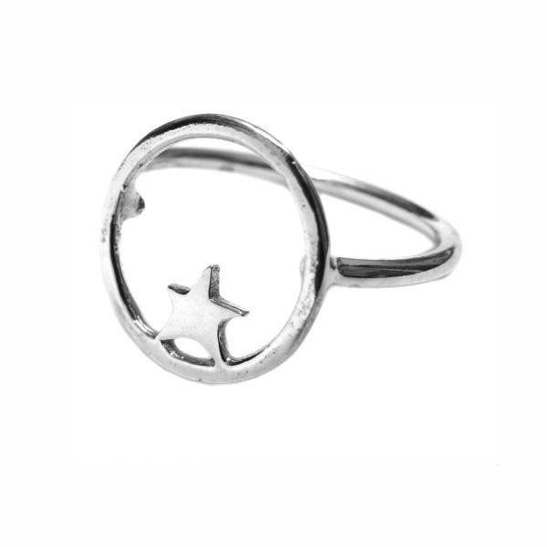 Nova Stern Sterling Silber Ring  Nova 45,00€