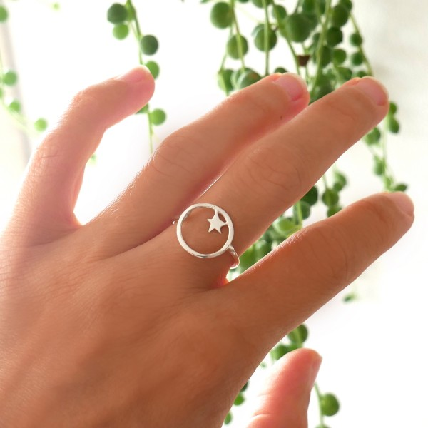 Nova star sterling silver ring Nova 45,00 €