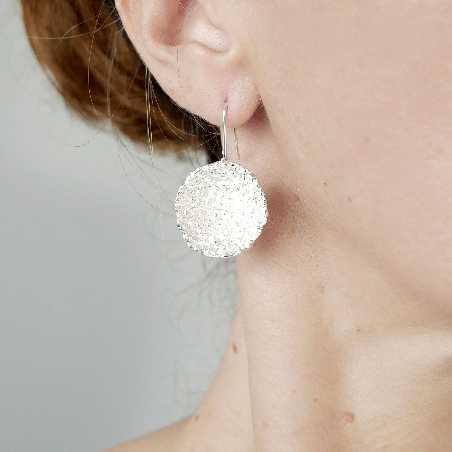 Sternenstaub schöne Sterling Silber Ohrringe Sternstaub 95,00€