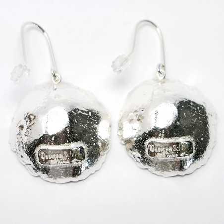 Superbes boucles d'oreille Poussière d'Etoiles en argent massif 925 Poussière d'étoiles 95,00€