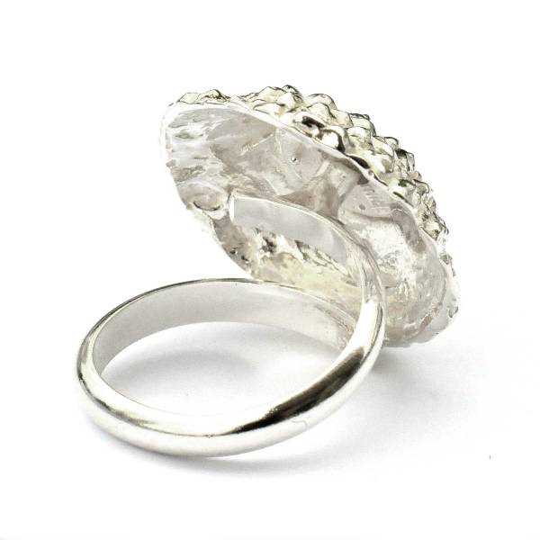 Beautiful Litchi sterling silver adjustable ring  Litchi 85,00 €