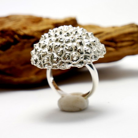 Beautiful Litchi adjustable sterling silver ring  Litchi 95,00 €