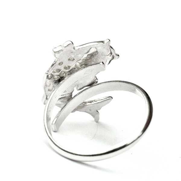 Adjustable Koï carp sterling silver ring  Koi 67,00€