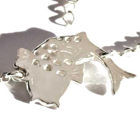 Adjustable Koï carp sterling silver bracelet  Koi 69,00€