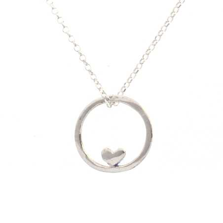 Valentine small reversible necklace. Sterling silver. Desiree Schmidt Paris Valentine 39,00€