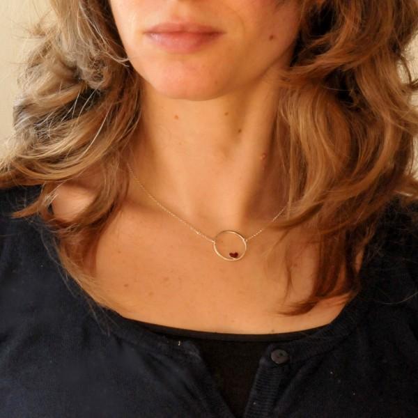 Valentine reversible necklace. Sterling silver. Valentine 47,00€