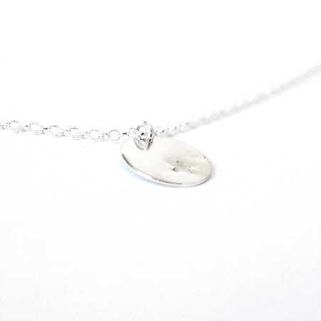 Petit collier Etoile en argent massif 925/1000  Colliers 29,00€