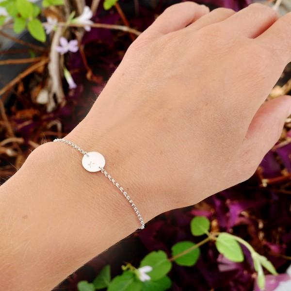Sterling silver small star bracelet  Bracelets 29,00€