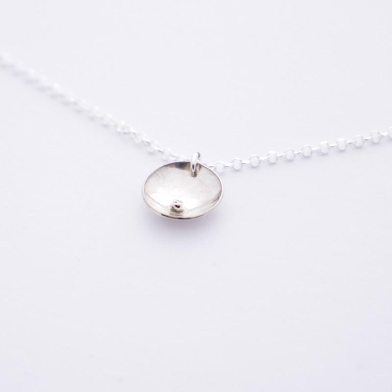 Adjustable sterling silver Shinju bead necklace  Shinju 45,00€