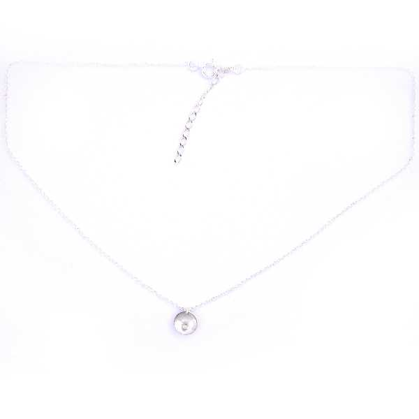 Adjustable sterling silver Shinju bead necklace Desiree Schmidt Paris Shinju 45,00€