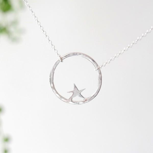 Collier étoile Nova en argent 925 Nova 45,00€